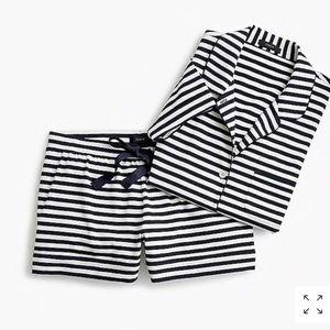 J. Crew Striped Pajama size L